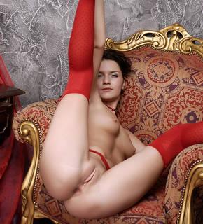 Seducente donna nuda.